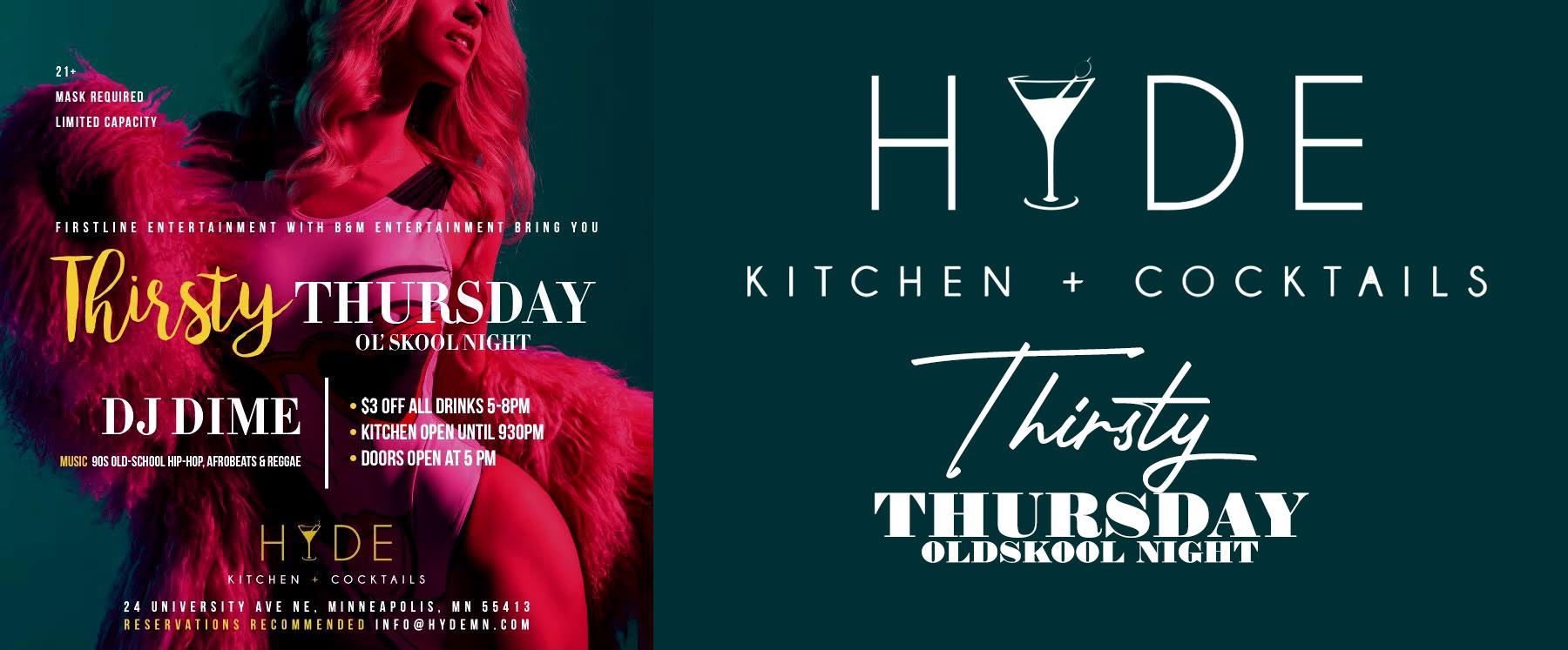 Thirtys-Thursdays